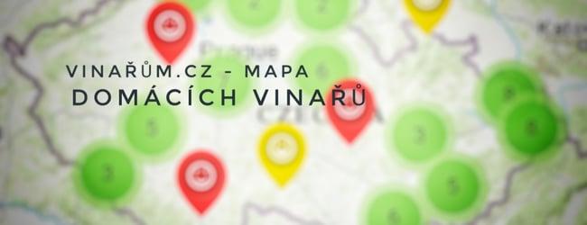 Vinařům.cz - mapa domácích vinařů