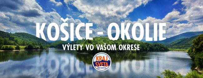MAPA - KRAJ SVETA: Košice - okolie