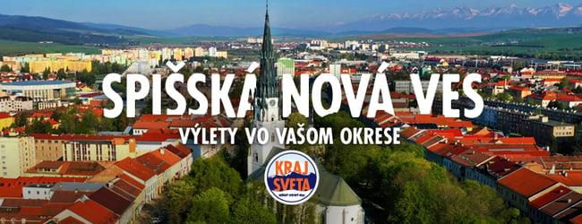 MAPA - KRAJ SVETA: Spišská Nová Ves