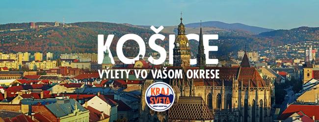 MAPA - KRAJ SVETA: Košice